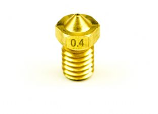 Brass Nozzle for Prusa i3 and compatible hot ends 1.75mm x 0.40mm